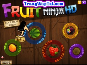 Game fruit ninja android - Tải game chém hoa quả cho android